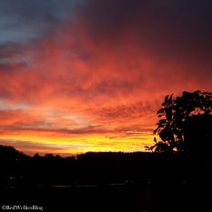...ein atemberaubender Sonnenuntergang.